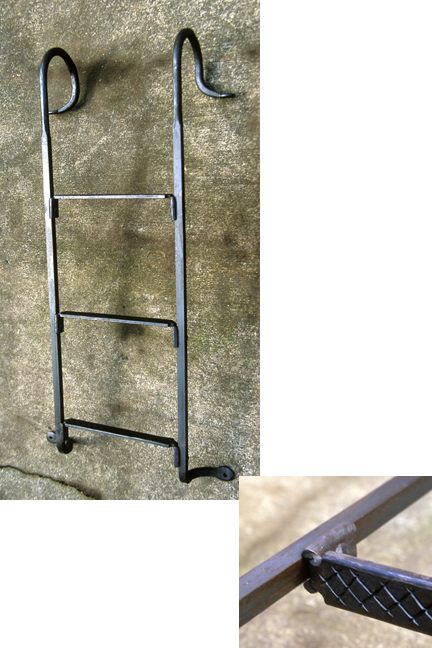 Decorative ladder - 60x22x4