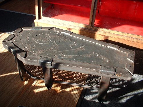 "Coffin Table    48"" x 24"" x 14""     2009 -"